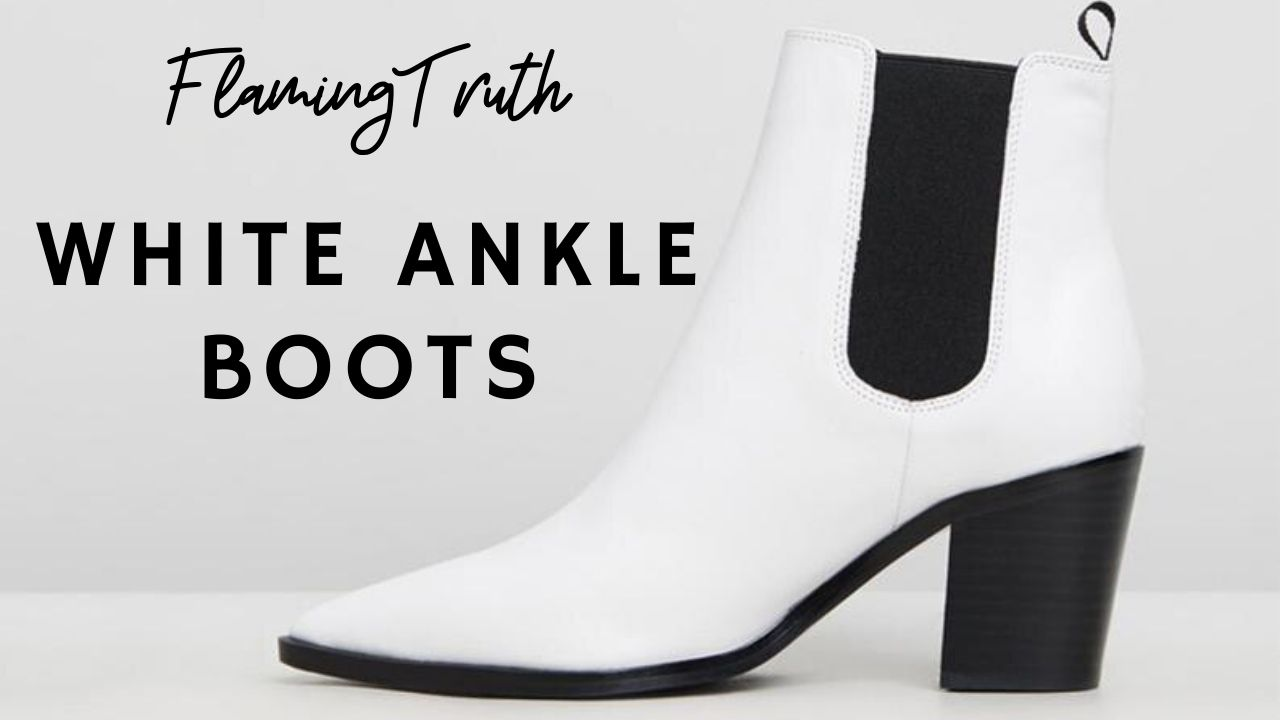white-ankle-boots
