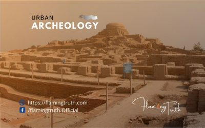 What is urban archeology? It deals with the study of living towns and cities.