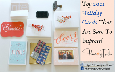Top 2021 Holiday Cards That Are Sure To Impress!